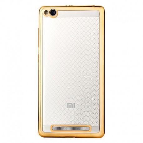 Силиконовый чехол Xiaomi Redmi 3 gold