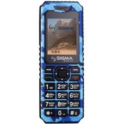 Мобильный телефон Sigma mobile X-style 11 Dragon blue camouflage