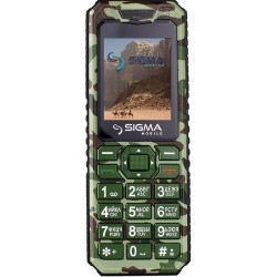 Мобильный телефон Sigma mobile X-style 11 Dragon green camouflage
