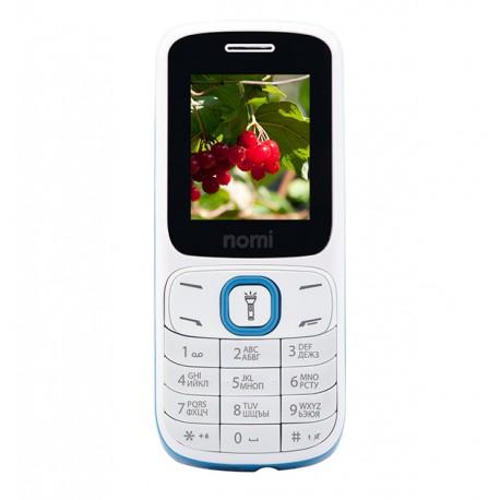 Мобильный телефон Nomi i183 White-Blue