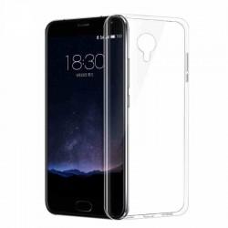 Силиконовый чехол Meizu M3 Note white