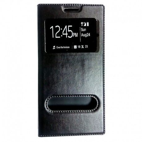 Чехол-книжка Lenovo Vibe P1 Black Window