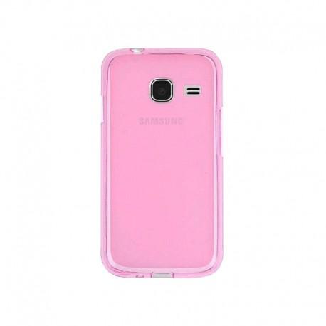 Силиконовый чехол Samsung J105 pink