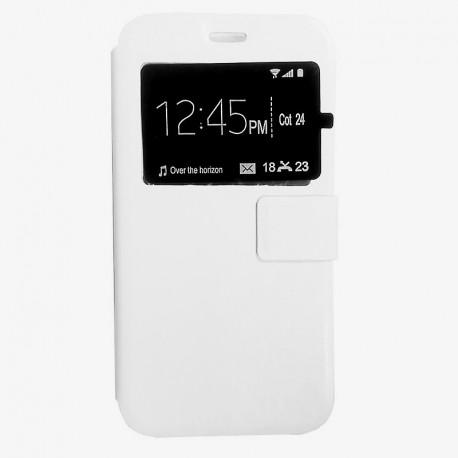 Чехол-книжка Samsung J320 White Window