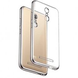 Силиконовый чехол Xiaomi Redmi Note 3 silver