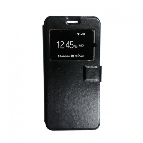 Чехол-книжка Meizu M3 Note Black Window