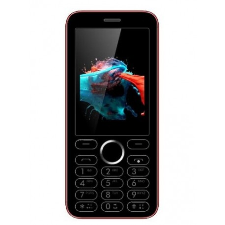 Мобильный телефон Viaan V241 Red-black