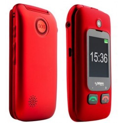 Телефон Sigma mobile Comfort 50 Shell Duo red