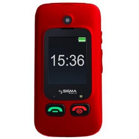 Телефон Sigma mobile Comfort 50 Shell Duo red