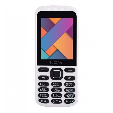Мобильный телефон Nomi i244 White-Red