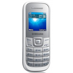 Мобильный телефон Samsung E1202 Dual Sim White