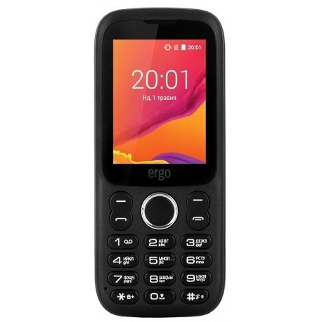 Мобильный телефон Ergo F241 Talk black
