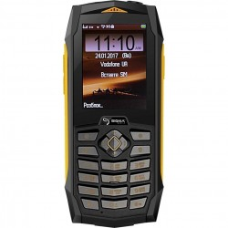 Мобильный телефон Sigma mobile X-treme PQ68 Netphone Black-Yellow