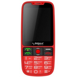 Мобильный телефон Sigma Mobile comfort 50 Elegance Red
