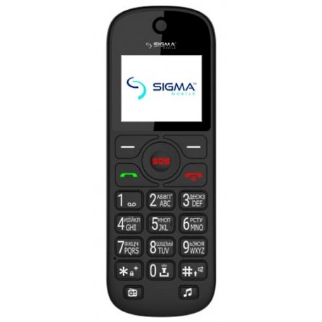 Мобильный телефон Sigma mobile Comfort 50 Senior black