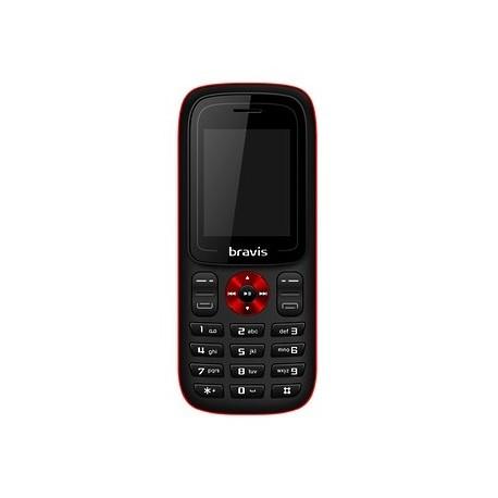Мобильный телефон Bravis C180 Jingle black