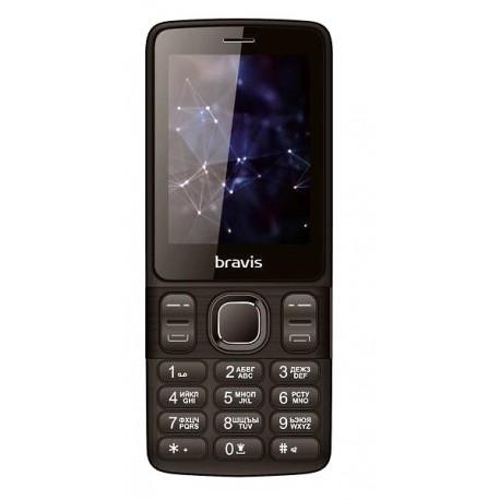 Мобильный телефон Bravis C240 Middle black