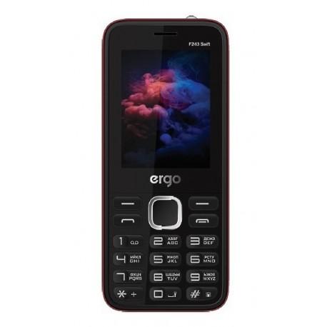 Мобильный телефон Ergo F243 Swift black
