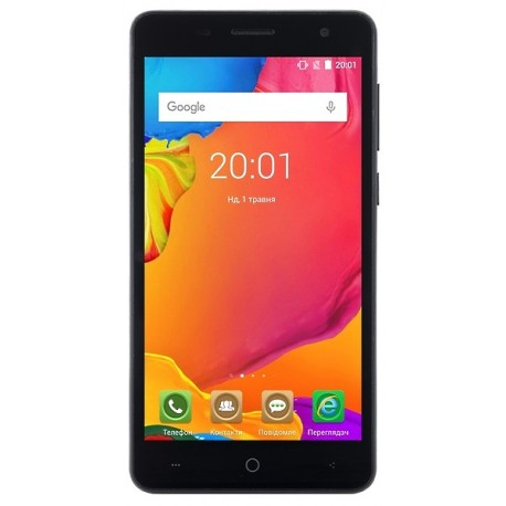 Смартфон Ergo B500 First black