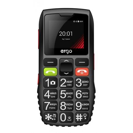 Мобильный телефон Ergo F184 Respect black