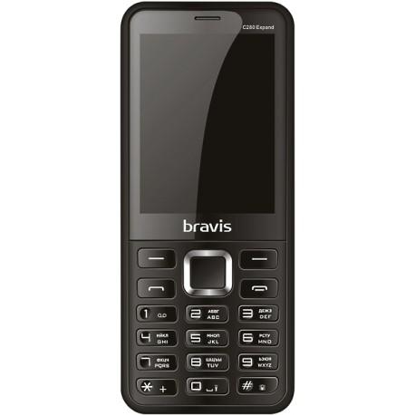 Мобильный телефон Bravis C280 Expand black