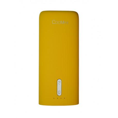 Power Bank CooMax C7 yellow (5200 mAh)+ фонарик