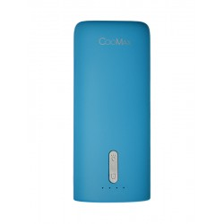 Power Bank CooMax C7 blue (5200 mAh)+ фонарик