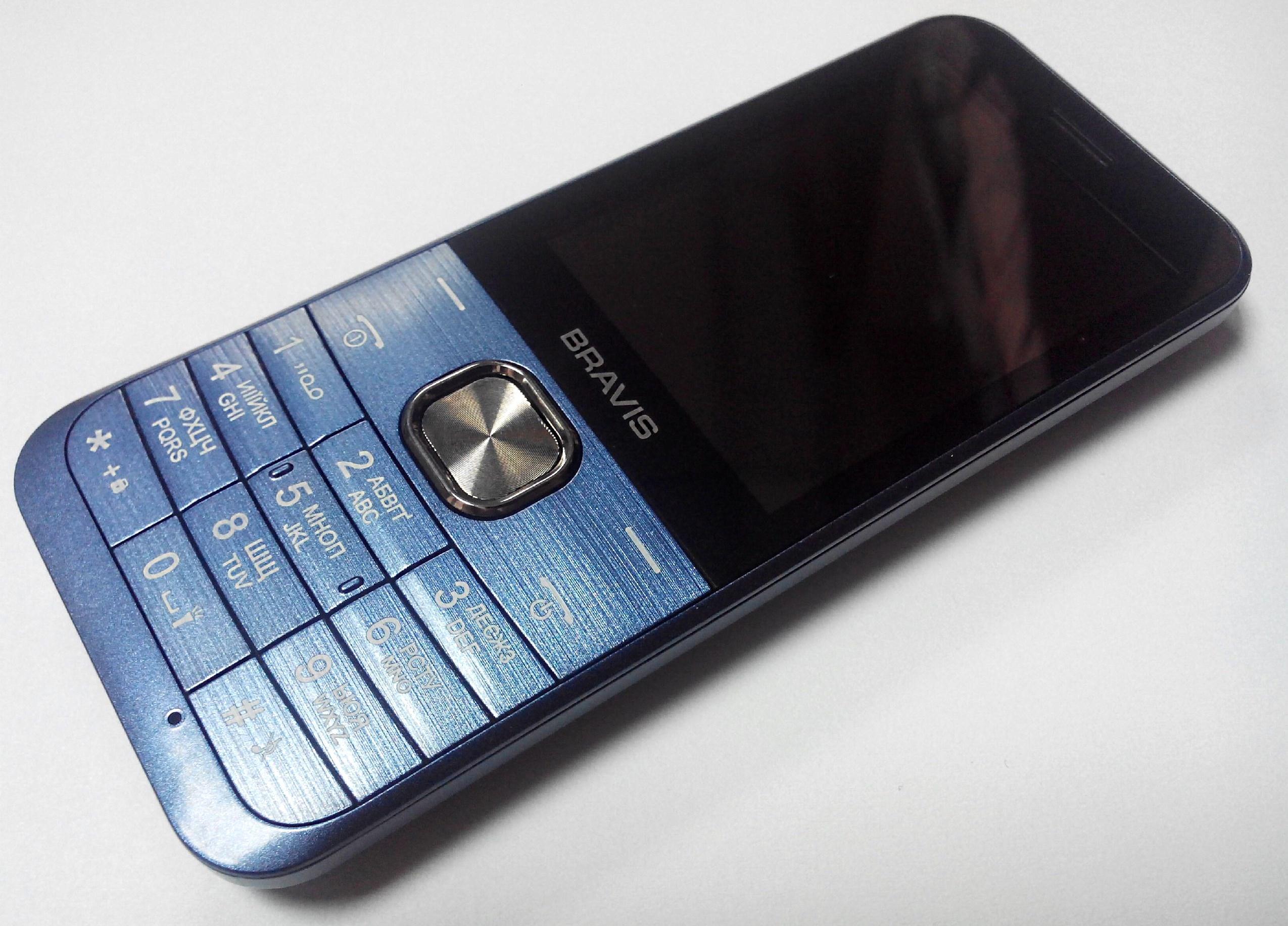 телефон bravis classic обзор